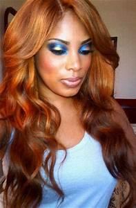 Ombre Hairstyles We Love Bronze Magazine Of Golden Bronze