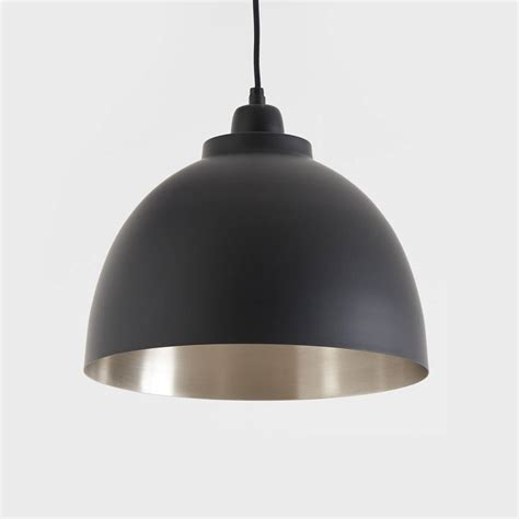 lantern pendant light black black and nickel pendant light by horsfall wright