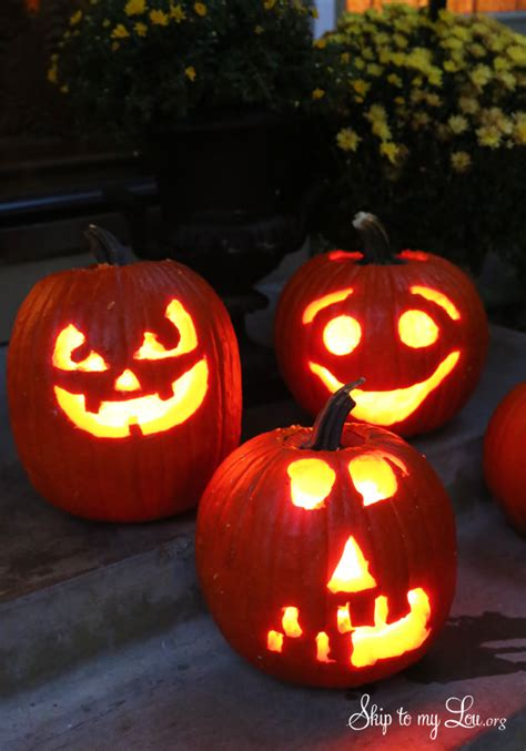 easy pumpkin carving ideas  tricks  pumpkin