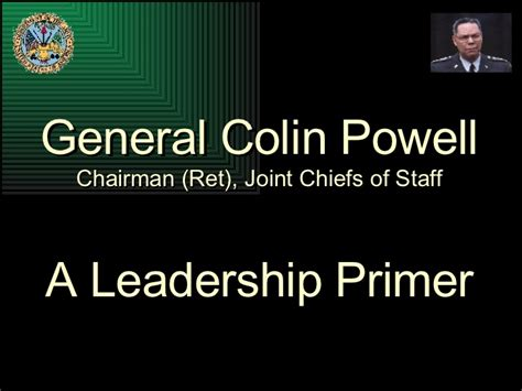 colin powells leadership