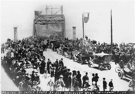 interstate bridge turns   iron bands  century