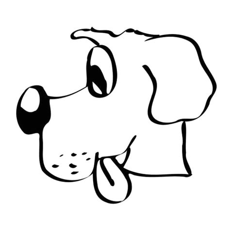 immagini di cani da disegnare per bambini disegno da colorare disegno cagnolino da colorare con