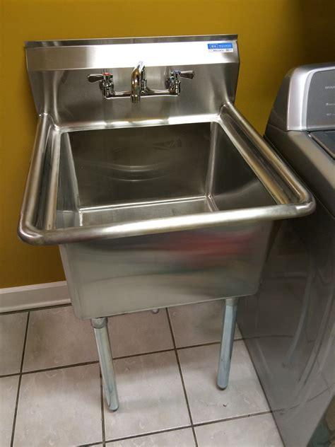 install  utility sink
