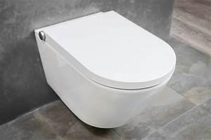 Dusch Wc 24 : bernstein wc dusch pro in wei sp lrandloses dusch wc komplettanlage badewelt wc dusch wc ~ Markanthonyermac.com Haus und Dekorationen
