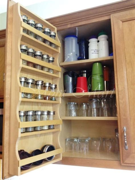 rack for kitchen storage cabinets and hardware custom spice rack from 4 3 13 4483