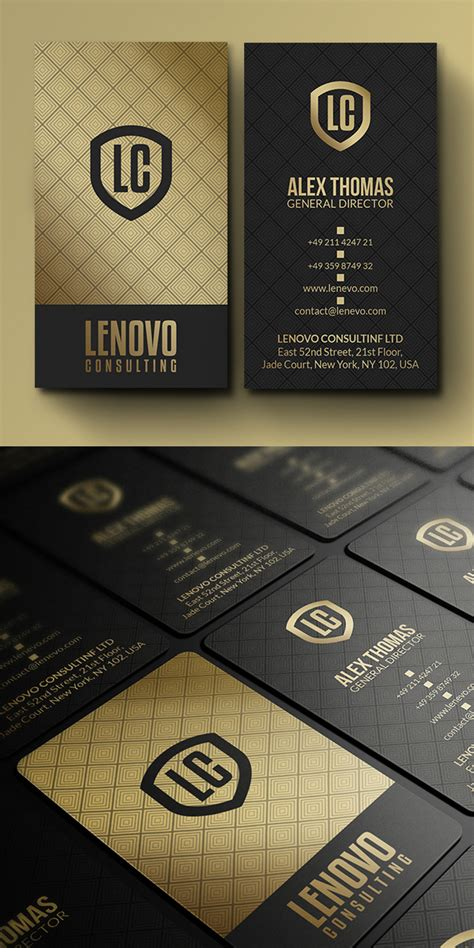 professional business cards template designs design
