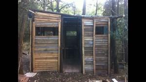 Cabanon En Bois : construire un cabanon en bois ep 8 murs finis youtube ~ Mglfilm.com Idées de Décoration