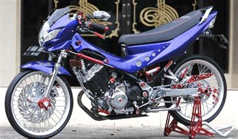 Modifikasi Motor Satria Fu Terbaru by 350 Modifikasi Motor Satria Fu Terbaru