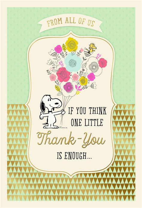 peanuts administrative professionals day   card