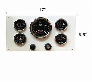 Perkins Engine 4 108  U0026 4 107 Instrument Panel  5 Gauges  Wired Terminal Strip