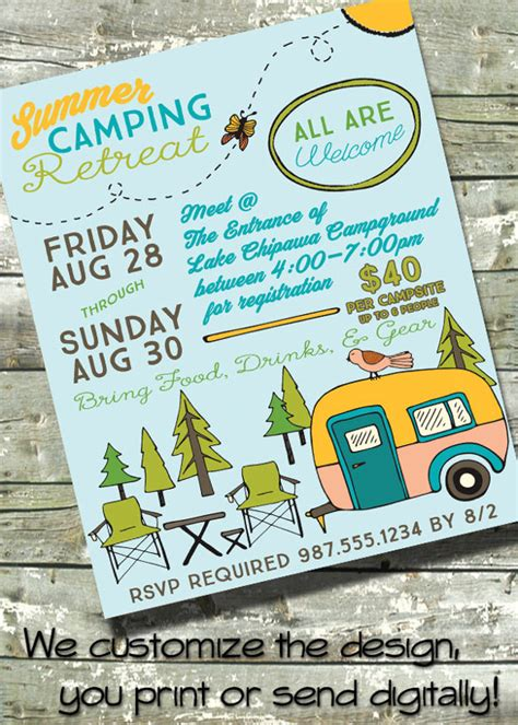 summer camp flyer template   documents