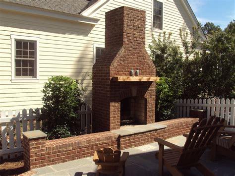 outdoor fireplace brick brick fireplace in birmingham al birmingham landscaping services