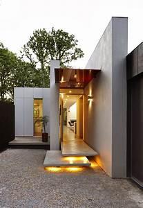 40 modern entrances designed to impress architecture beast With exterior house lighting australia