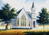 Amazing Grace Church Painting