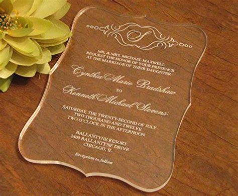 bestlife  selling acrylic scroll shape clear wedding