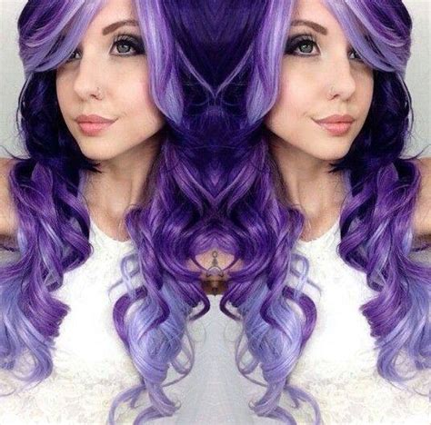 Shade Of Hair by Different Shades Of Purple Hair Xcitefun Net