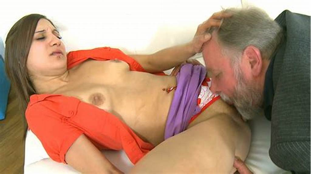 #Brunette #Teen #Gets #Her #Muff #Licked #And #Drilled #By #An #Ugly