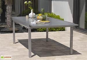 Table De Jardin Avec Rallonge : table de jardin mon am nagement jardin ~ Farleysfitness.com Idées de Décoration