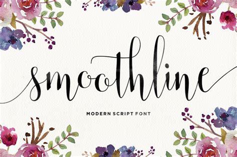 Smoothline Script By Areatype Studio Thehungryjpegcom