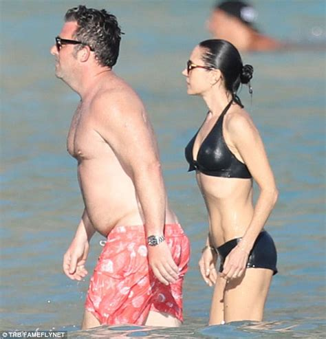 rosa salazar swimsuit jennifer connelly looks fantastic in st barts daily mail