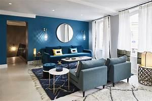 Couleur Bleu Canard Deco : bleu canard osez cette couleur dans votre d coration int rieure ~ Melissatoandfro.com Idées de Décoration