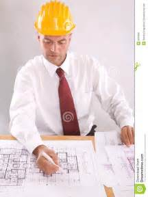 residential building plans architect at work stock photo image 5200530