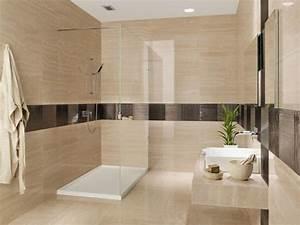 les 25 meilleures idees de la categorie salle de bain With carrelage salle de bain marron