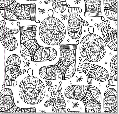 christmas designs adult coloring book stress winter