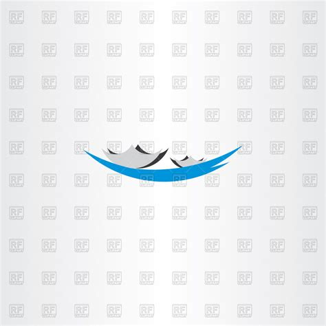 Boat On Lake Clipart by Boat In Lake Icon Royalty Free Vector Clip Image