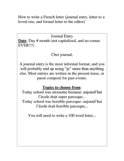 images  formal writing letters worksheets