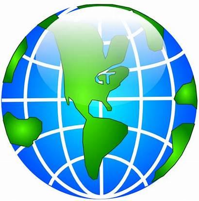 Globe Clipart Gambar America Transparent Clip Svg