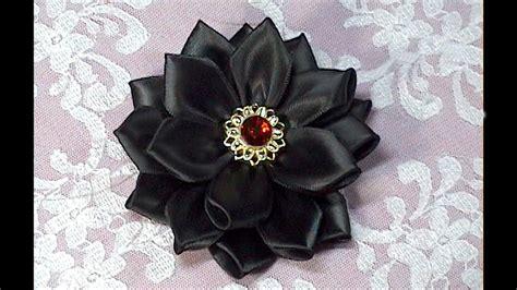 diy    kanzashi flower    tutorial diy