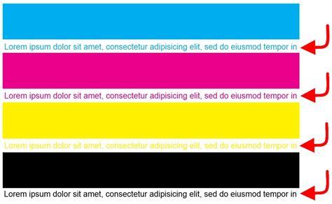 printer color test colour laser printer test page