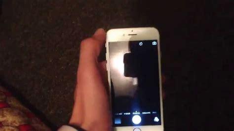 fix iphone  front camera problem  screen