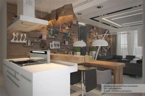 amenagement cuisine rectangulaire aménagement de maison 30 photos par olga kataevskaya