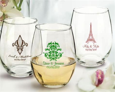 Paris Personalized Stemless Wine Glasses 9 Oz. Arc