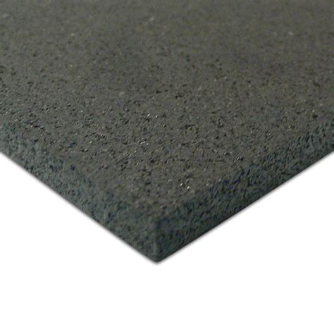 rubber mat flooring rubber cal elliptical mat 3 16 in x 48 in x 84 in black