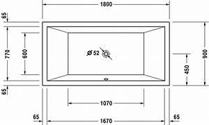 Badewanne Größe Standard : starck bade duschwannen badewanne 700052 duravit ~ Sanjose-hotels-ca.com Haus und Dekorationen