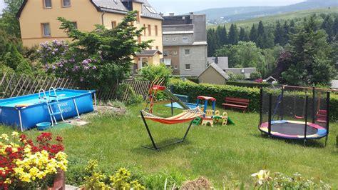 Spielplatz Für Den Garten by Spitzers Ferienwohnungen Oberwiesenthal Garten Spielplatz