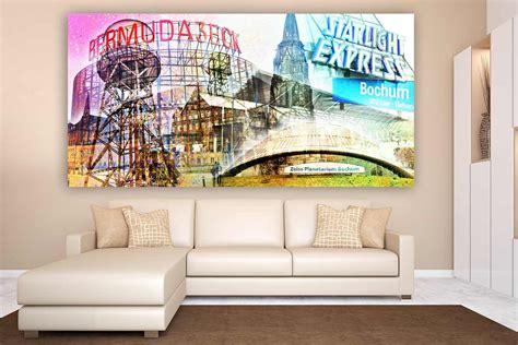 wandbilder mit sprüchen wandbilder bochum mit pop motiven kunst collagen ausm ruhrgebiet