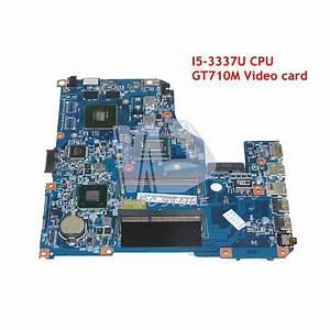 Nokotion For Acer Aspire V5 471 V5 571 Laptop Motherboard Sr0xl I5 3337u Cpu Gt710m 48 4tu05 04m