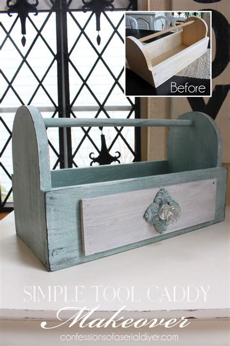 simple tool caddy makeover   awesome giveaway wood