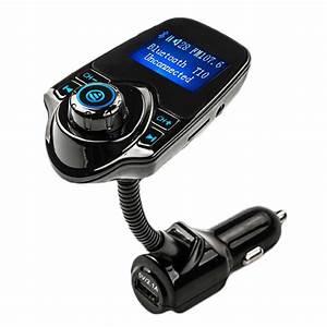 Auto Fm Transmitter : fm transmitter bluetooth handsfree car kit mp3 music ~ Jslefanu.com Haus und Dekorationen