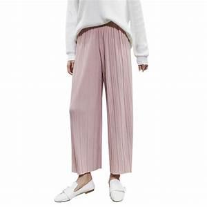 Women Trousers 2017 Fashion Chiffon Pants Loose Casual ...