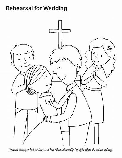 Coloring Pages Printable Books Weddings Colouring Sheets