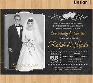 50th anniversary invitation printable 50th wedding With 50th wedding anniversary invitations to print