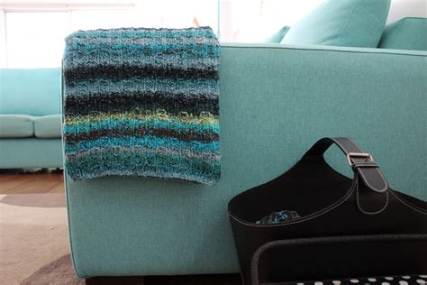 noro knitted big blanket
