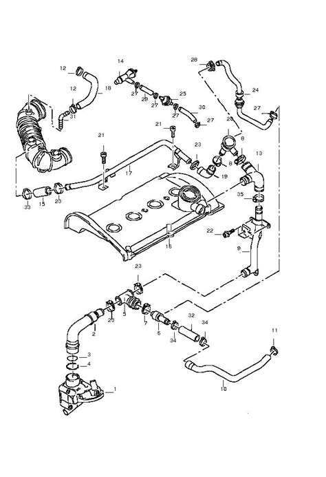 2004 Vw Passat Engine Diagram by 03 Passat 1 8t Engine Diagram Circuit Diagram Maker