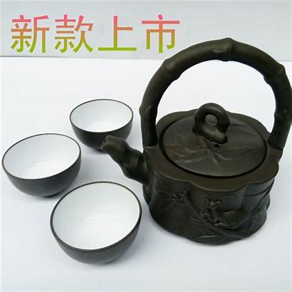Kung Zhu Teapot Pot Fu Ore Yixing