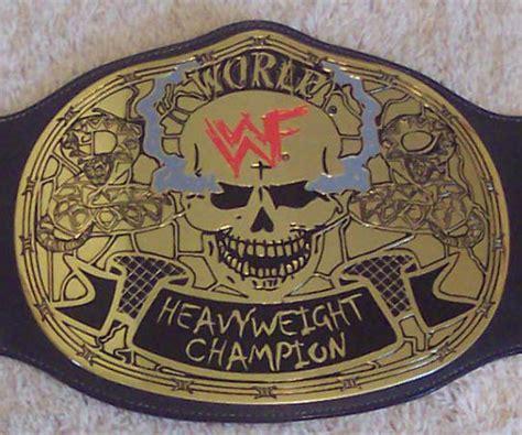 favorite championship wrestling belts general